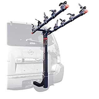 Allen Sports USA Deluxe 5 Hitch Mounted Bike Carrier - Black, 2-Inch