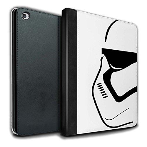 �lle/Case/Brieftasche für Apple iPad Air 2 Tablet/Erste Bestellung Muster/Angriffs Trooper Helm Kollektion ()