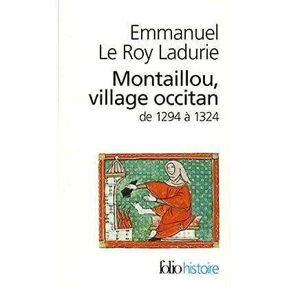 Montaillou, village occitan de 1294 à 1324 (Folio Histoire t. 9)