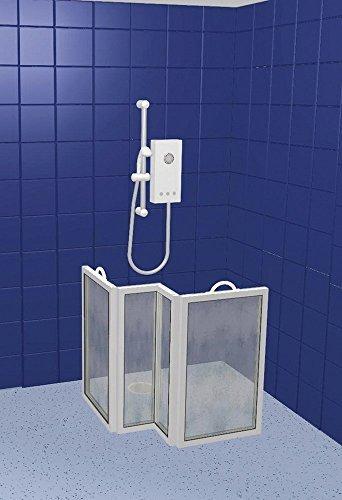 NRS CS4 Tragbare Duschabtrennung