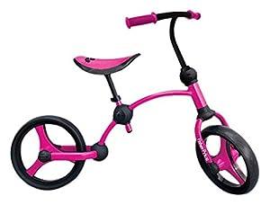 Fisher-Price Fp1050233-Bicicleta sin Pedales para niños 2 En 1, Color Rosa