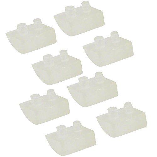 Test Vac (Impresa Products 41G59205020U Produkte 8er Pod Schuhe für Beton Pools-Entspricht Hayward (TM) axv414p/axv014p und PROSTAR (TM) hwn115-Ersatz für Navigator und Pool VAC Pool Reiniger)