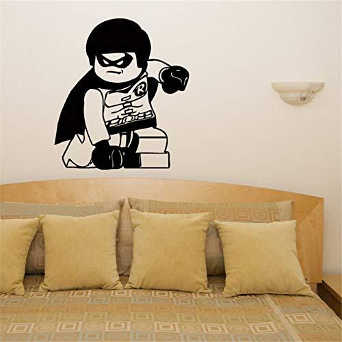 zhuziji Superheld Held Kinderzimmer Aufkleber Wandaufkleber Bild Art Decor Cute Living Wandtattoos Wand Stick