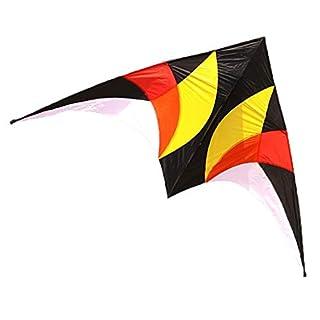 AYLS Kite Park, leichte Brise Leicht zu fliegendes Kite-Spleißspielzeug für Bunte Kinder, 270 * 140CM
