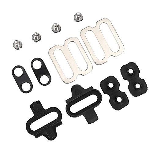 TEEPAO Fahrradklammern, kompatibel mit SPD-SL Spinning, für Shimano SPD Serie Mountain Lock Pedal, Indoor Cycling & Mountain Bike Cleat Set
