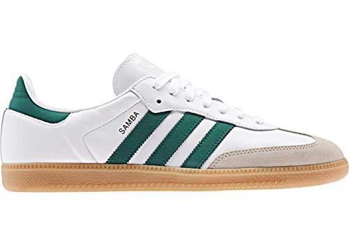 Adidas Samba OG White Collegiate Green Vapour Green 44