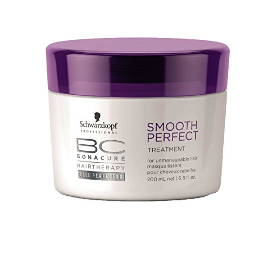 Schwarzkopf Bonacure Haarkur Smooth Perfect Treatment, 1er Pack, (1x 200 ml) -