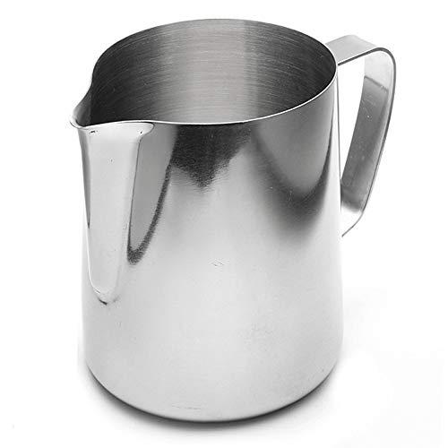 WPCBAA Acier Inoxydable Lait Pichet à café Tasse À Café Espresso Pichet Barista Craft Tasses À Café Latte Pot Cuisine Outil (Size : 2000ml)