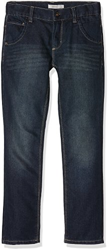 NAME IT Jungen Jeanshose Nittim Reg/Slim Dnm Pant Nmt Noos, Blau (Dark Denim), 140