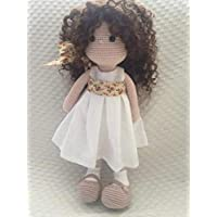 Muñeca Amigurumi de ganchillo tipo Waldorf