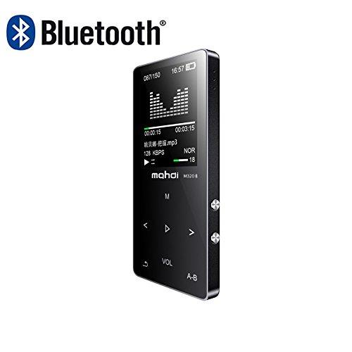 Original en métal écran tactile Bluetooth lecteur MP38Go intégrée Haut-parleur Mini lecteur de musique avec radio FM Enregistreur vocal e-book