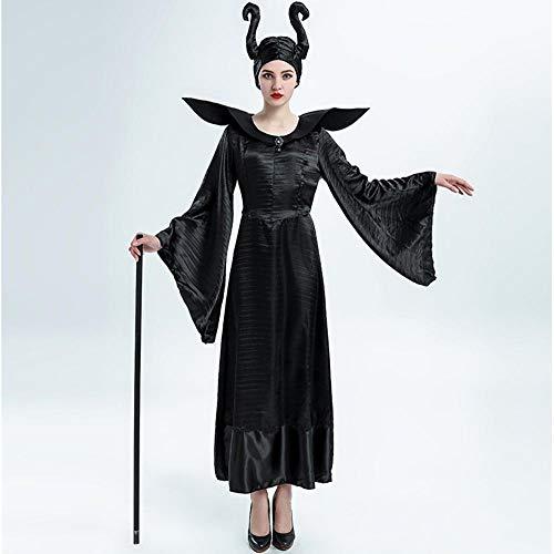 Olydmsky karnevalskostüme Damen Halloween-Kostüm Rolle sexy Dämon Hexe Kostüm Magier einheitliche Cosplay