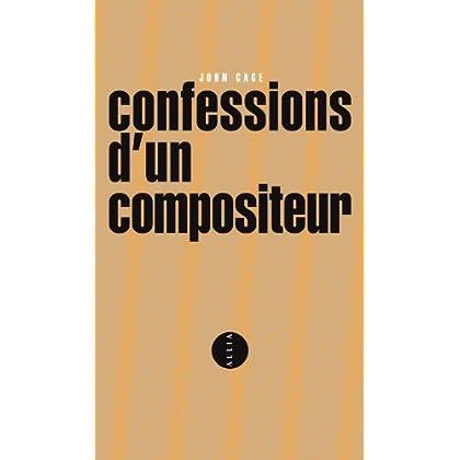 CONFESSIONS D'UN COMPOSITEUR - BILINGUE ANGLAIS/FRANCAIS