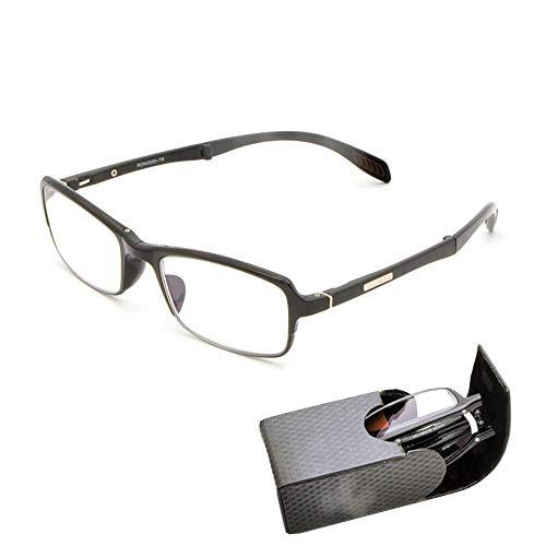 Massage Lesebrillenleser für Männer und Frauen Klappleser inklusive Brillenetui,3