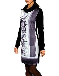 SMASH Genova Vestido Con Cuello Alto-A1682306, Robe de Chambre Femme