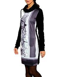 SMASH Genova Vestido Con Cuello Alto-A1682306, Robe Femme