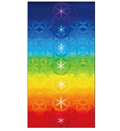 Farbe Bad-handtuch-multi (LLQ Rechteck Handtücher Decke für Strand Handtücher Wandbehang Schals Strandtuch zum Aufhängen Bettwäsche, multi, 150cm*75cm)