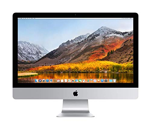 Apple iMac (27 Zoll, mit Retina 5K Display, 3,4 GHz Quad-Core Intel Core i5 Prozessor)