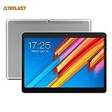 Teclast M20-(Phablet4G Tablet 10.1 Pulgadas, Deca-Core,Android 8.0 MT6797,4GB RAM+64GB eMMC ROM,Cámaras Dobles,Tarjetas Dobles, Dual WiFi) Platino