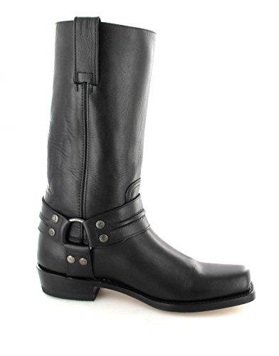 Sendra boots bottes 2380 bikerstiefel en différentes cOULEURS tendances & les variantes) Noir