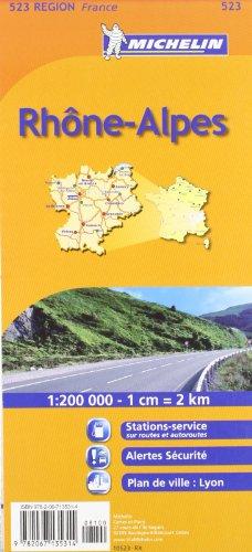 Mapa Regional Rhône-Alps (Carte regionali)