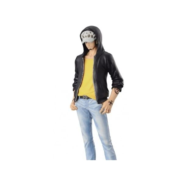 ONE PIECE - Figura estatua Colección - TRAFALGAR LAW 17cm T-shirt Amarillo - JEANS FREAK Banpresto 3