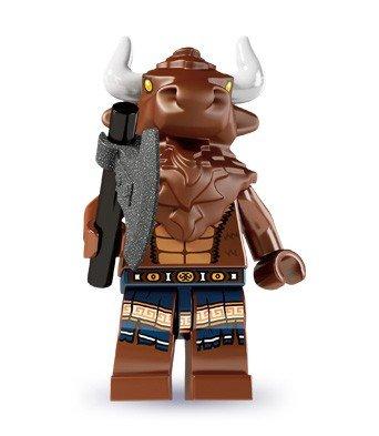 LEGO 8827 - Minifigur Minotaurus aus Sammelfiguren-Serie 6 (8 Lego Minifiguren Serie)