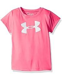 Under Armour Girls' Big Logo Short Sleeve Tee