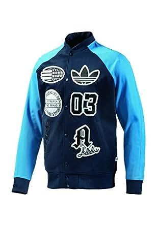 Adidas Originals Logo Stadium College Design Jacke XS