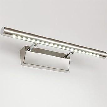dailyart® winkel einstellbar badezimmer lampe 5w edelstahl led ... - Lampen Für Badezimmerspiegel