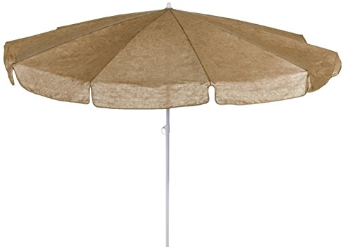 beo MM07 Sonnenschirm 200cm - Sombrilla para patio, color beige