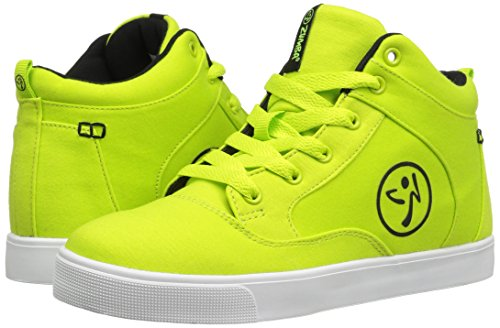 Zumba Footwear Mädchen Street Fresh Hallenschuhe, Grün (Green), 39 EU - 6