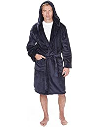 3961067e6e Mens Supersoft Housecoat Fleece Bath Robe Dressing Gown Gents Warm Winter  Style