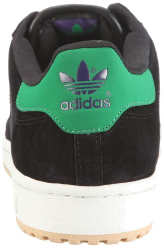 adidas Originals DECADE LO G50793 Unisex - Erwachsene Sneaker Schwarz/BLACK 1 / COLLEGIATE ORANGE / FAIRWAY