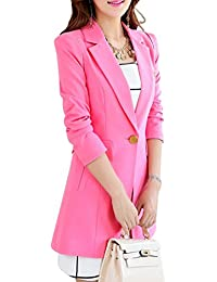 Amazon.co.uk: Pink - Suits & Blazers / Women: Clothing