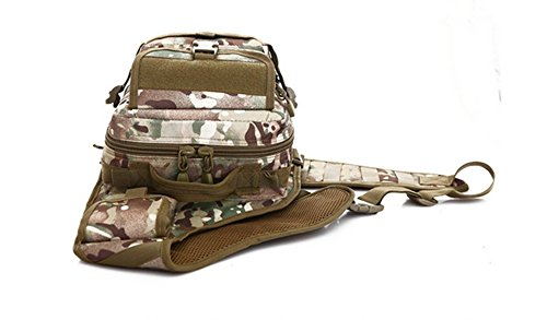 , NEU Unisex Outdoor Sports Camouflage Tactical Rucksack Frauen Single Schulter Paket Brust Bag Herren Camping Wandern Multifunktional Messenger Taschen - CP digital