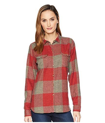 Woolrich Damen Flanell (Damen Flanellhemd II Twisted Rich, Damen, Tamarind Check, Small)