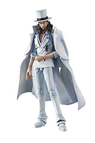 Megahouse - One Piece Figurine Rob Lucci Variable Action Heroes
