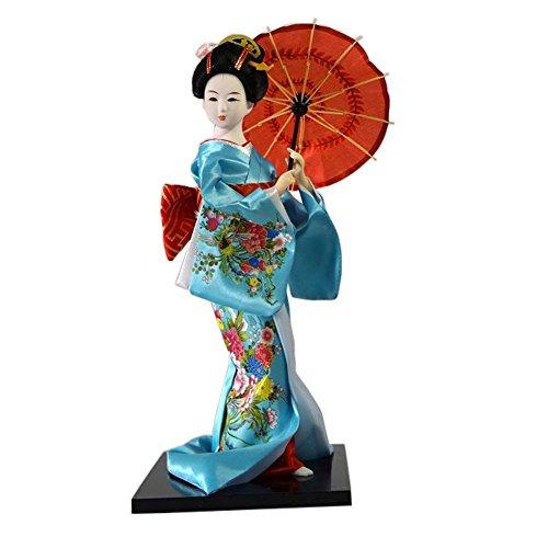 Muñecas japonesas Geisha Girl Geiko Kimono muñeca