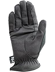 Hy5 monta diaria guantes, color Marrón - marrón, tamaño small