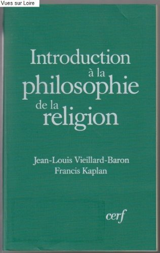 Introduction  la philosophie de la religion