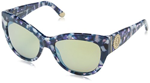 Juicy Couture Damen JU 569/S GQ H8I Sonnenbrille, (Navy Pink Tortoise/Turquoise Sparkling), 55