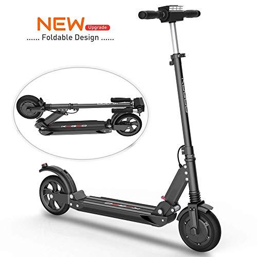 Scooter Eléctrico Adultos - Motor De Alta Potencia de 500(2*250)W, Velocidad Máx de 30km/h, Diseño Plegable y de Fácil Transporte, E Scooter Ultra Ligero, Scooters de Arranque de Batería Recargable