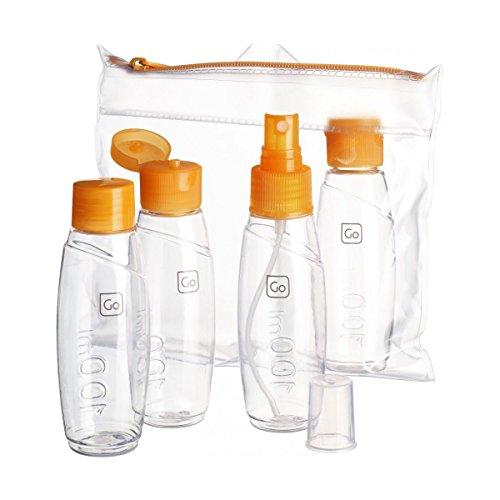Go Travel - Set de bouteilles cabine taille 15.5 cm