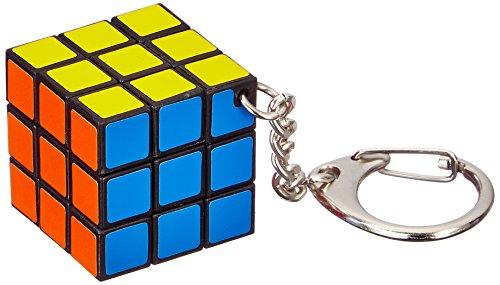 Spiele 00728 - Rubik's Cube Schlüsselanhänger, Zauberwürfel