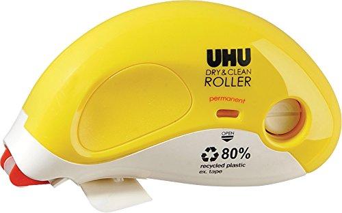 Uhu 50490- Dry und Clean Kleberoller, permanent, 8.4 mm x 14 m