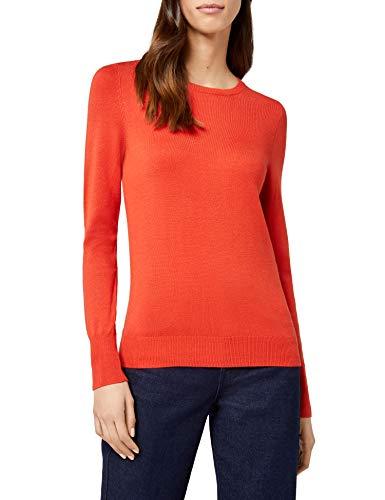 Umstandspullover rot schlicht und elegant