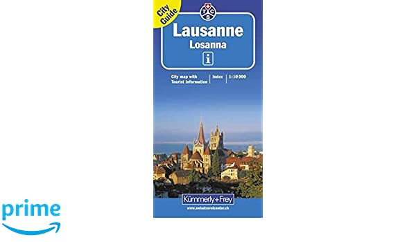 Lausanne City Map Amazoncouk KUMMERLYFREY Books - Lausanne city map