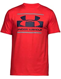 Under Armour - TEE-SHIRT HOMME UA SPORTSTYLE LOGO ROUGE - taille : XS