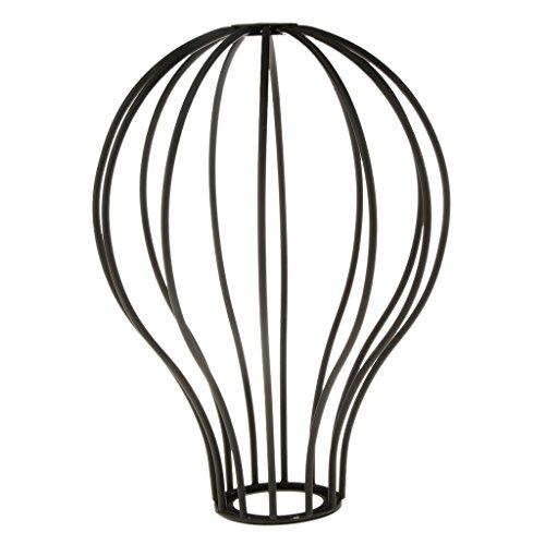pantalla-para-lampara-de-metal-de-moda-de-estilo-de-jaula-de-color-negro
